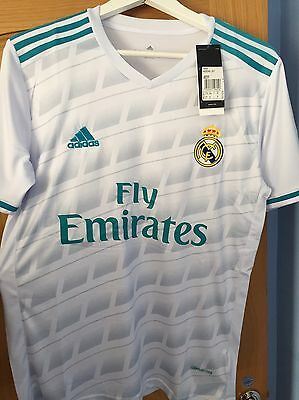 ADIDAS REAL MADRID 2017 - 18 Home Jersey / Kit