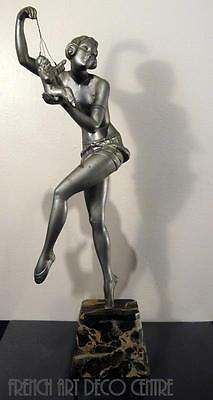 "MOLINS French Art Deco ""Puppet Dancer"" c1930"