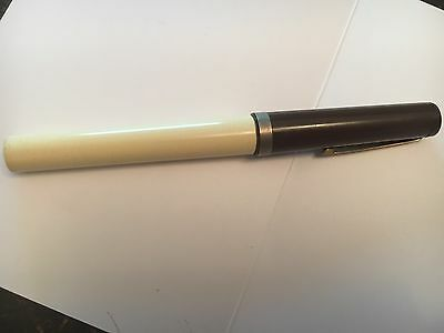 Vintage Osmoroid Rolatip Left Hand Medium Nib Cartridge Ink Pen - Plastic