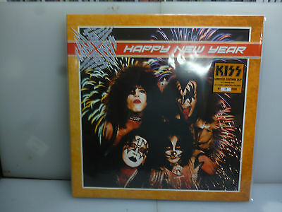 Kiss-Happy New Year. Providence, Usa 1977.-2Lp Coloured Vinyl+Poster-New. Sealed