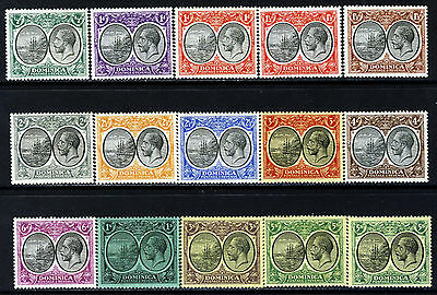 DOMINICA King George V 1923-33 Definitive Part Set SG 71 to SG 90 MINT