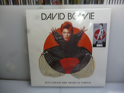 David Bowie-Let's Spend The Night In Tokyo. 1973.-2Lp Mustard Vinyl-New. Sealed