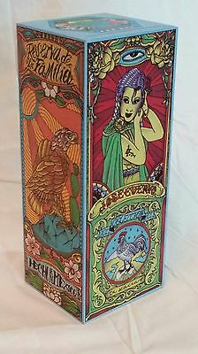 2011 Jose Cuervo Tequila Collector Box Dr. Lacra Oaxaca Mermaid Eagle Tattoo Art