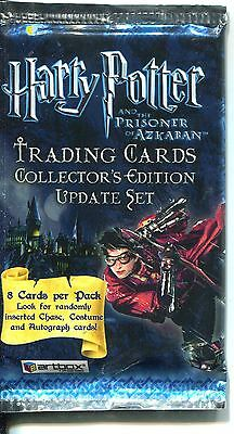 Harry Potter Prisoner Of Azkaban Update  Factory Sealed Hobby Packet / Pack