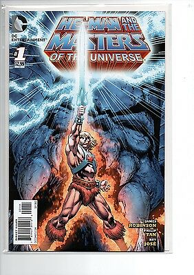 He-Man and The Masters of the Universe #1 // DC Comics // NM-