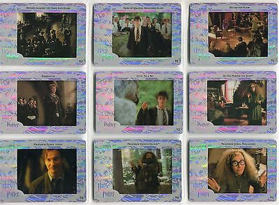 Harry Potter Prisoner Of Azkaban Filmcardz Rare Chase Card Set R1-9