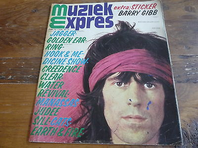 Muziek Expres 1972: Rolling Stones/Creedence/The Sweet/Shocking Blue/E&F/TeeSet