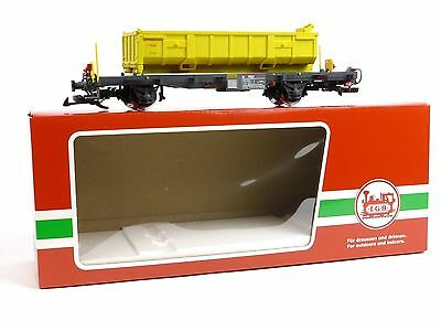 LGB Trains 47899-1 RhB Container Car G Scale Model Trains Railroads