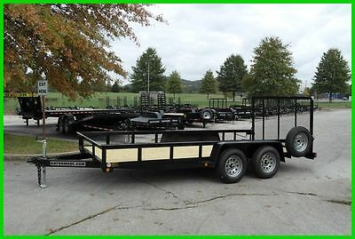 2017 Gatormade 16 ft. Utility Trailer