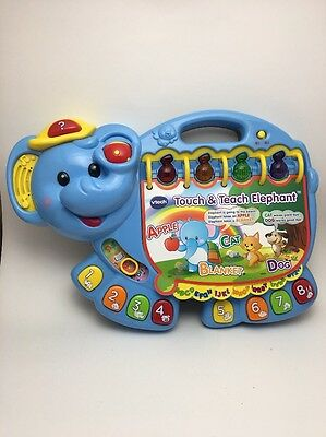 VTech Touch and Teach Elephant Book Learning Toy