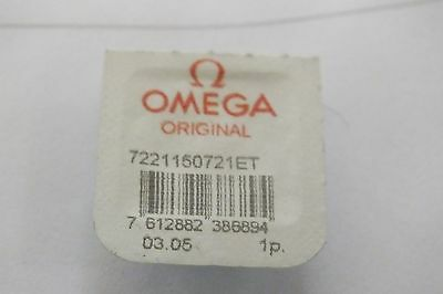 Omega 1150 Part 1327 complete balance wheel #721 New