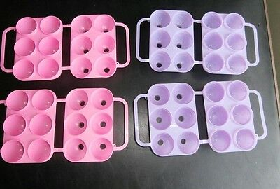 JELLO -Easter Egg Jiggler Molds - Set of 4 molds - Purple ones are etched