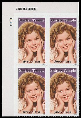 USA Sc. 5060 (47c) Shirley Temple 2016 MNH plate block