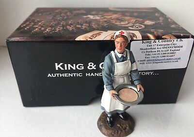 KING AND COUNTRY WWII German Nurse with Basin Boxed WH06 WH006