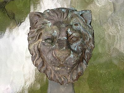 Lion Heads and legs brass or bronze