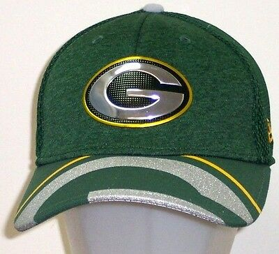 brand new 080e9 cf8e0 Green Bay Packers New Era NFL Draft On Stage 39Thirty Flex Hat   Cap size S