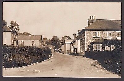 Postcard Axmouth Village near Seaton Devon early RP