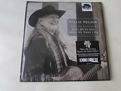Record Store Day WILLIE NELSON  LTD EDITION GREEN VINYL