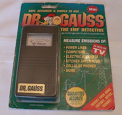New Dr Gauss The EMF Detective – Electro Magnetic Field Gaussmeter