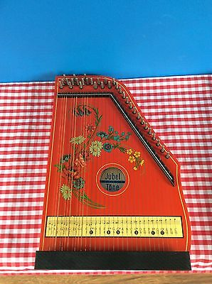Vintage Zither Instrument By Jubel Tone Of Germany - Kinderzither
