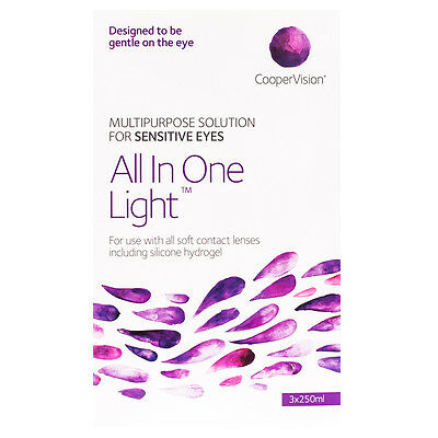 All-in-One Light 3 x 250ml Solution Plus free 60ml Pack
