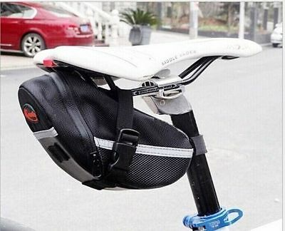 Cycling Bike Bicycle Waterproof Saddle Bag Wedge Phone Rear Seat