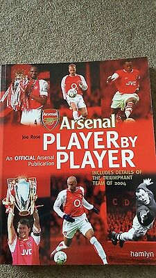 Arsenal book player by player