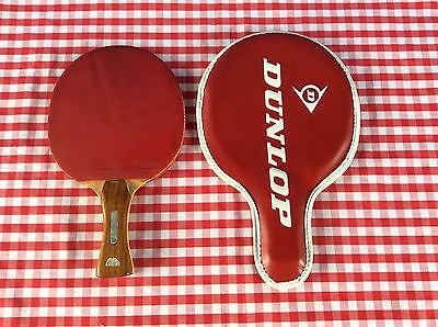Vintage Ascot Double Sided Rubber Table Tennis / Ping Pong Paddle