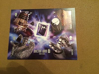 GB 2013 Doctor Who - Miniature Sheet - MNH Mint Unfolded