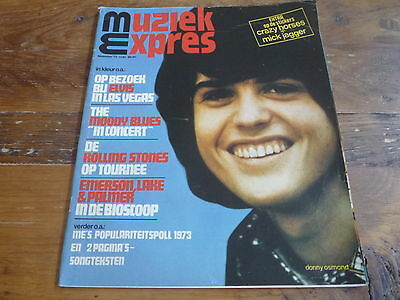 Muziek Expres 1973: Osmonds / The Sweet / Elvis/Rolling Stones/Deep Purple/Bowie