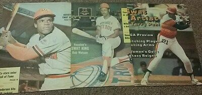 (3) Early 1970's Houston Astros Autographed Covers w/Cesar Cedeno & Puhl &Watson