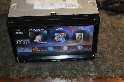 """Used Kenwood DDX9702S 7"""" Double Din Bluetooth Touchscreen HD Car Receiver #11605"""