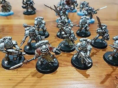warhammer 40k ARMY Grey Knights (mostly painted + bits)