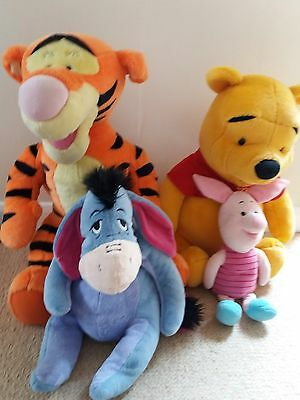 Large talking trigger .large Winnie the pooh .eeyor and piglet