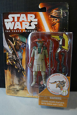 Star Wars - The Force Awakens - Constable Zuvio Figure - Factory Sealed!