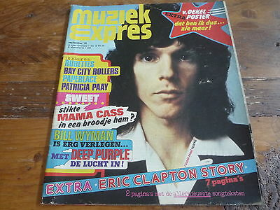 Muziek Expres 1974: Sparks/The Sweet/Rubettes/Bay City Rollers/Deep Purple/Mud