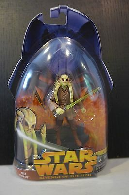 Star Wars - 2005 Revenge Of The Sith Kit Fisto Figure - Factory Sealed!