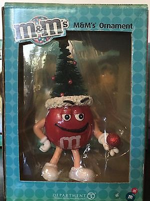 """M&M's * #20 1 RARE """"ONE OF A KIND"""" """"FACTORY MISTAKE"""" Ornament Plus 4 Others M&Ms"""