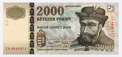 Hungary Pick 181 2000 Forint banknote 1998 in UNC condition