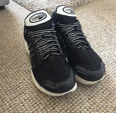 Mens Adidas Climacool 1 Trainers Black and White Size UK 9