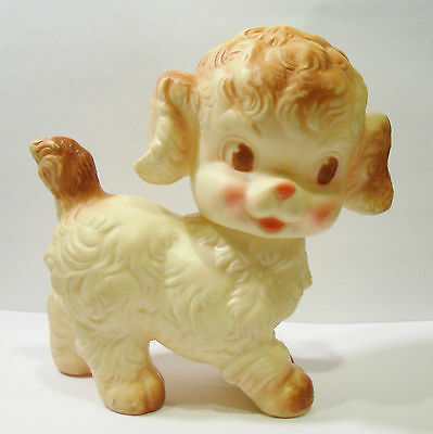Sun Rubber Company 1950's Ruth E. Newton Puppy Dog Vinyl Squeaky Squeeze Toy