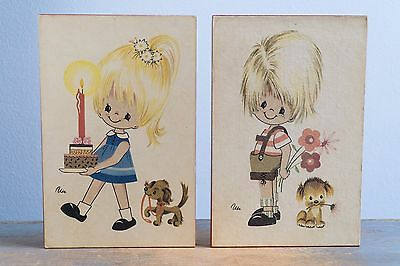 Vintage Kids' Room Wall Art / Wall Hanging - Children's Nursery Decor
