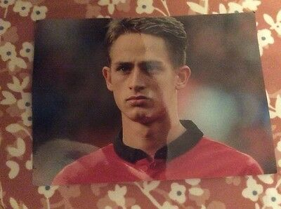 Photo of Manchester United player 6x4