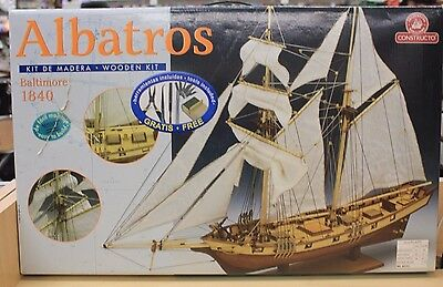 Constructo Toyland Albatros Baltimore 1840 Wood Model Ship Kit Scale 1:55