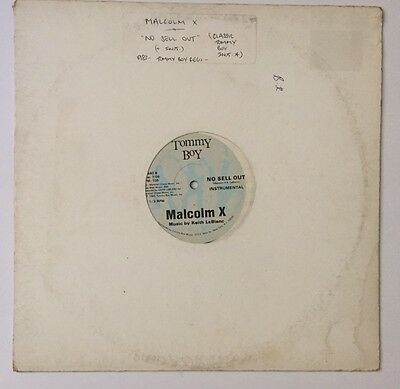 """Malcolm X – No Sell Out/12""""/electro/Reggie Griffin/Tackhead/old Skool"""