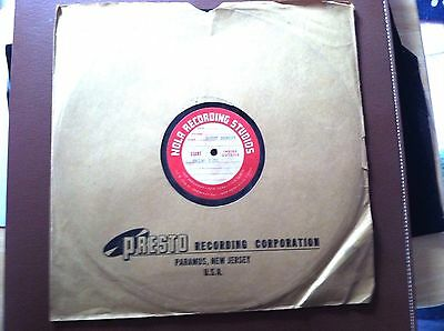 Old Tommy Dorsey Big Band Music Record