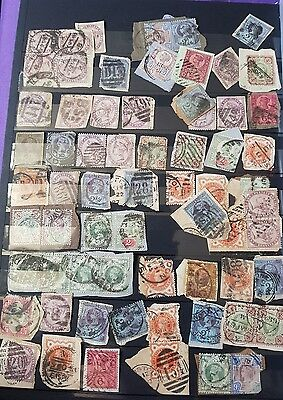 GB STAMP ALBUM Book QUEEN VICTORIA /KINGS ECT USED +M/MINT