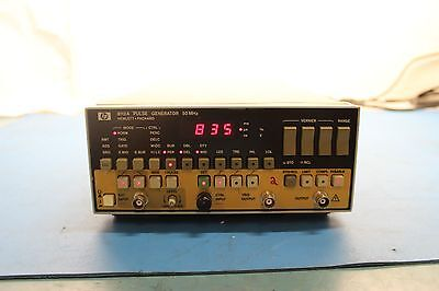 Agilent 8112A Pulse Generator 50MHz Tested Working
