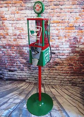 SINCLAIR gas vintage gumball machine candy/ nuts machine with metal stand