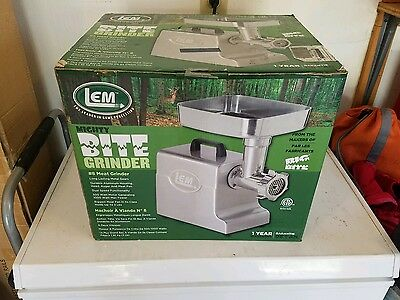LEM Products Mighty Bite Electric #8 Meat Grinder